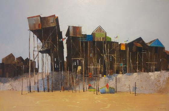 Cambodian Fishing Village III