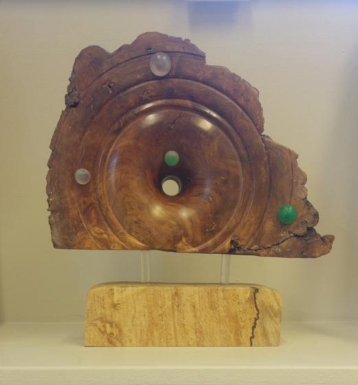 Elm Burr Plaque