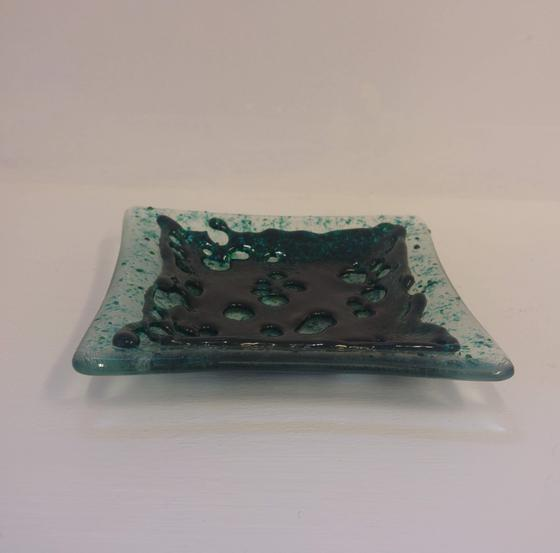 Green Lace Dish